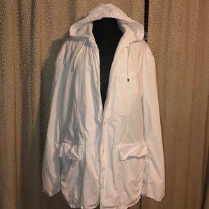 MENS Ralph Lauren white Hood Jacket size XL